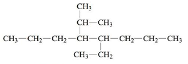 Chapter 22, Problem 137CWP, Name each of the following alkanes. a. CH3CH2CH2CH2CH3 b. c. , example  2
