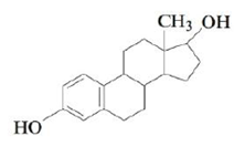 Chapter 22, Problem 158CP, Estradiol is a female hormone with the following structure: How many chiral carbon atoms are in