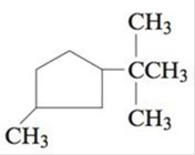 Chapter 22, Problem 22E, Name each of the following cyclic alkanes, and indicate the formula of the compound. a. b. c. , example  2