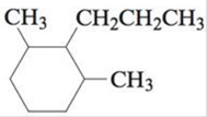 Chapter 22, Problem 22E, Name each of the following cyclic alkanes, and indicate the formula of the compound. a. b. c. , example  3