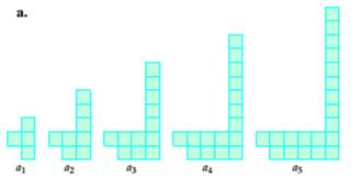 Chapter 1, Problem 5T, In each of the following, determine the nth-term formula for the number of square tiles in the nth