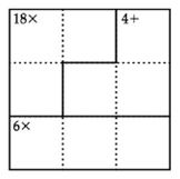 Chapter 1.1, Problem 2EE, EXCURSION EXERCISES Solve each of the, following puzzles. Note: The authors of this textbook are not