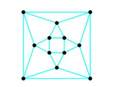 Chapter 5.3, Problem 4EE, Give a reason why the graph below Cannot be the projection of a regular Convex polyhedron. If the