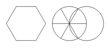 Chapter 7.1, Problem 2EE, Draw a hexagon with all sides the same length. Here is a suggestion on how to begin. First, draw two