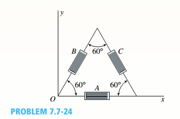 Chapter 7, Problem 7.7.24P, A 600 strain rosette, or delta rosette, consists of three electrical-resistance strain gages