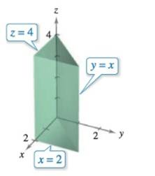 Chapter 14, Problem 18RE, Finding Volume In Exercises 17-20, use a double integral to find the volume of the indicated solid.