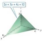 Chapter 14.2, Problem 23E, Finding VolumeIn Exercises 2126, use a double integral to find the volume of the indicated solid.