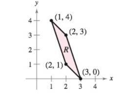 Chapter 14.8, Problem 18E, Evaluating a Double Integral Using a Change of Variables In Exercises 17-22, use the indicated