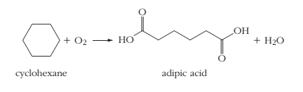 Chapter 3, Problem 3.93PAE, 3.93 Adipic acid is used in the production of nylon, so it is manufactured in large quantities. The