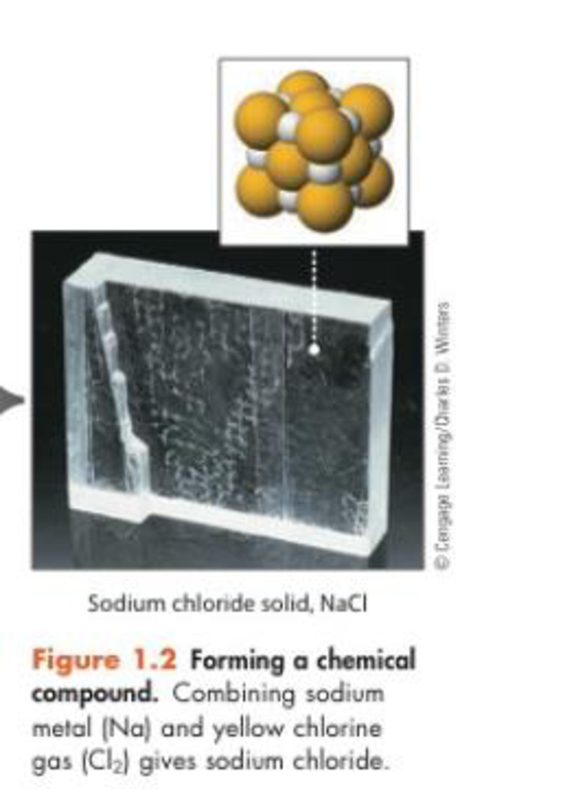 Chapter 1, Problem 25GQ, In Figure 1.2 you see a piece of salt and a representation of its internal structure. Which is the