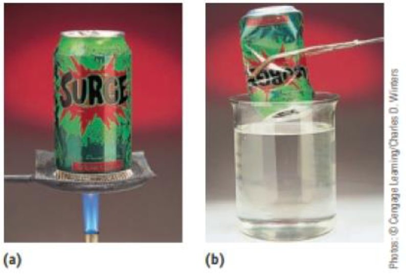 Chapter 11, Problem 41IL, The photos below illustrate an experiment you can do yourself. Place 10 mL of water in an empty soda