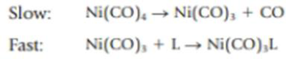 Chapter 14, Problem 88IL, The substitution of CO in Ni(CO)4 by another molecule L [where L is an electron-pair donor such as