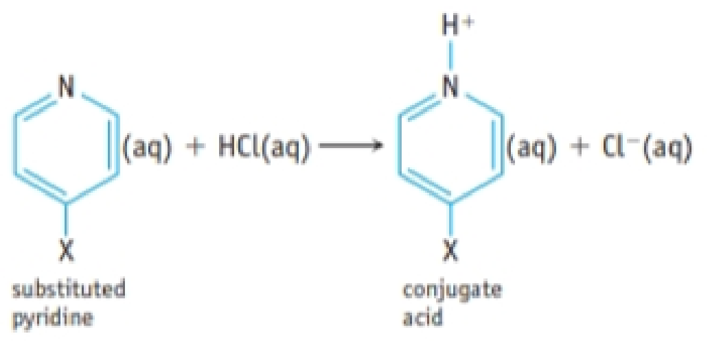 Chapter 16, Problem 114IL, A hydrogen atom in the organic base pyridine, C5H5N, can be substituted by various atoms or groups , example  1