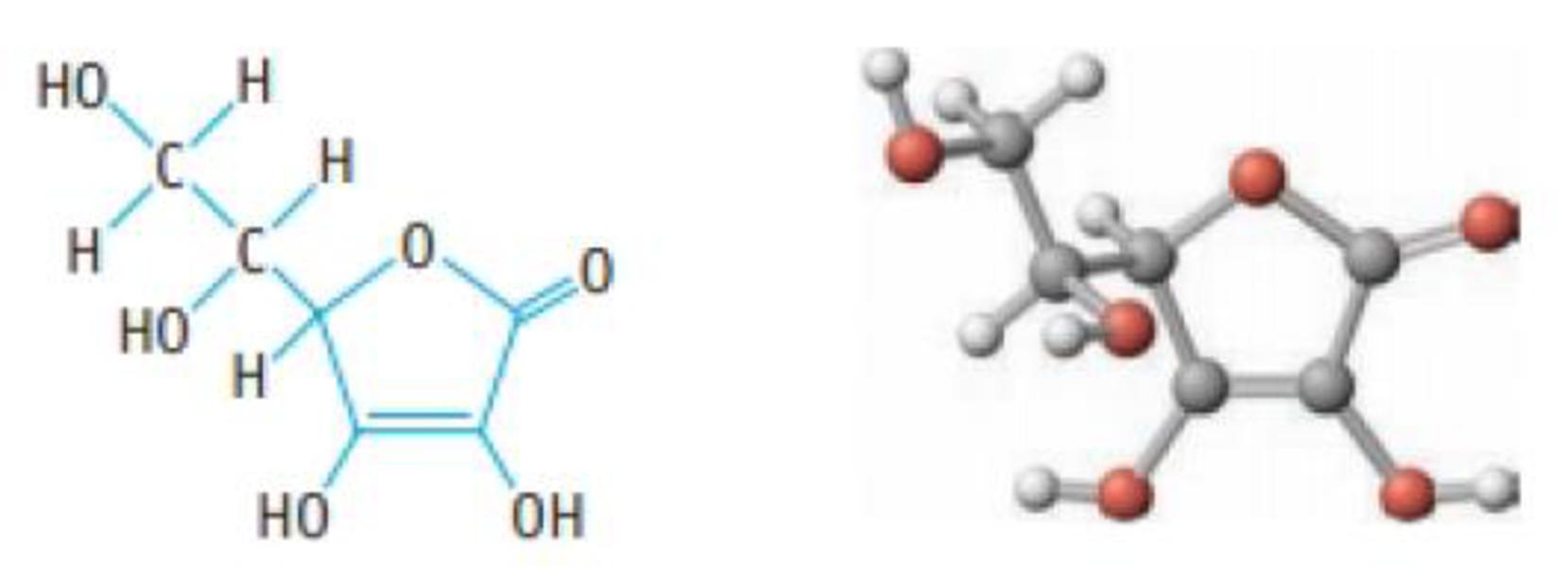 Chapter 16, Problem 72PS, Ascorbic acid (vitamin C, C6H8O6) is a diprotic acid (Ka1 = 6.8  105 and Ka2 = 2.7  1012). What is