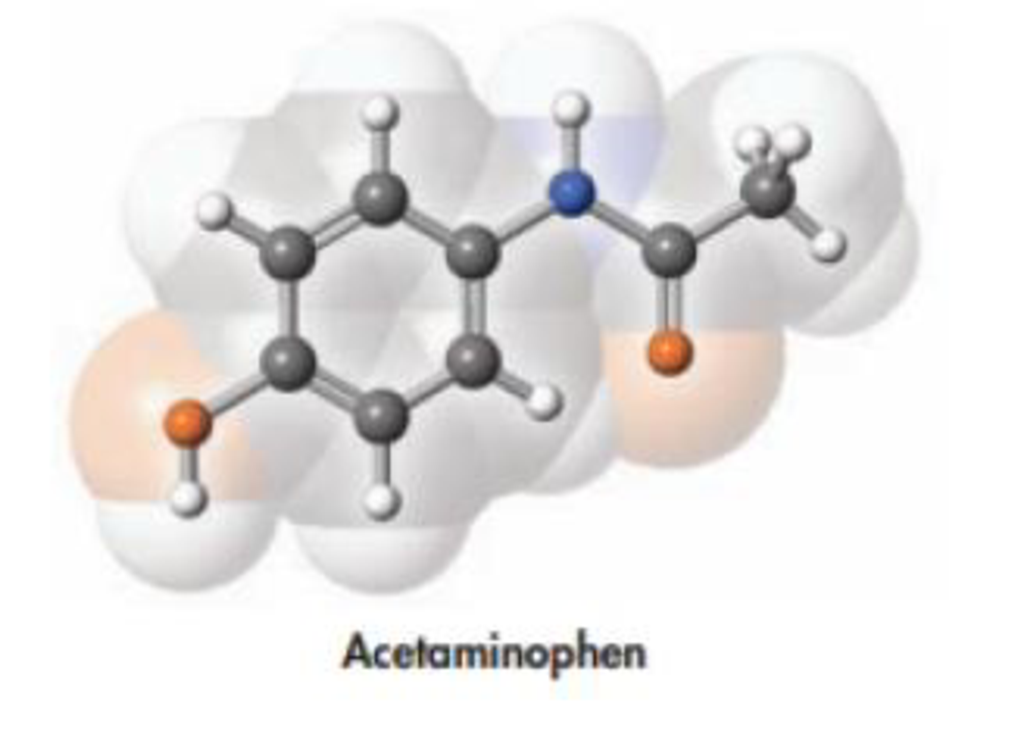 Chapter 2, Problem 77PS, Acetaminophen, whose structure is drawn below, is the active ingredient in some nonprescription pain
