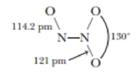 Dinitrogen Trioxide N 2 O 3 Has The Structure Shown Here The Oxide Is Unstable Decomposing To No And No 2 In The Gas Phase At 25 C N 2 O Dinitrogen trioxide is the chemical compound with the formula n2o3. dinitrogen trioxide n 2 o 3 has the