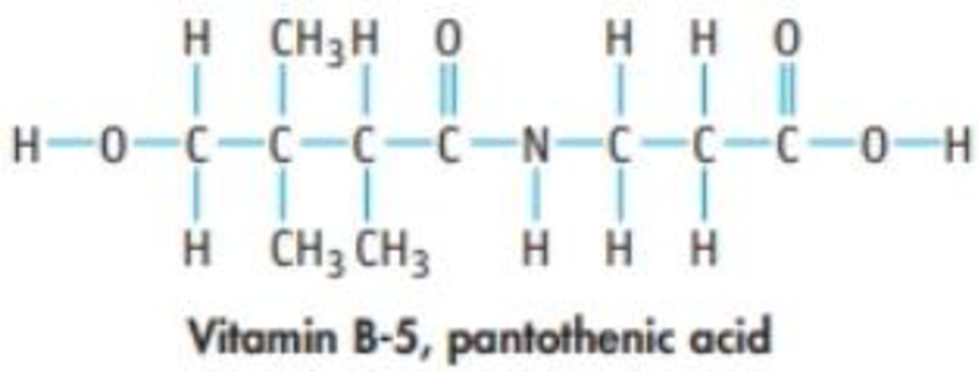 Chapter 23, Problem 114IL, Vitamin B-5, pantothenic acid, has the structure shown below. Base hydrolysis of this compound