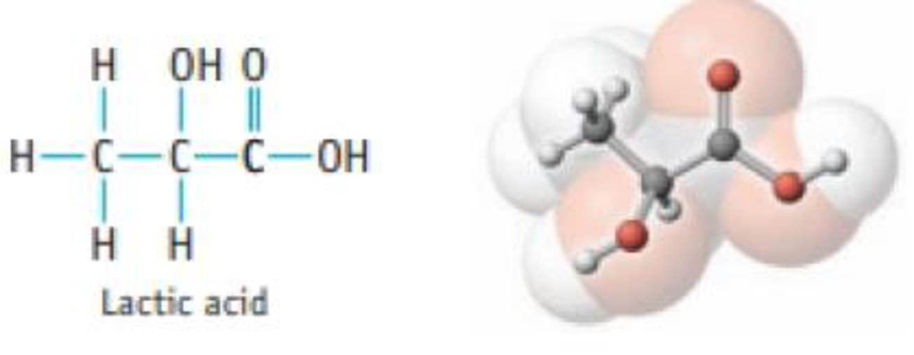 Chapter 3, Problem 87SCQ, Most naturally occurring acids are weak acids. Lactic acid is one example.