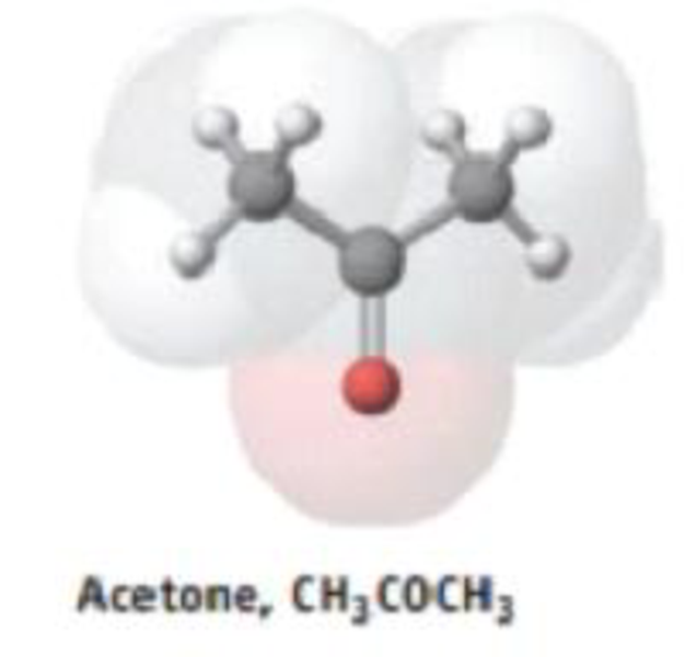 Chapter 4, Problem 80GQ, The metabolic disorder diabetes causes a buildup of acetone, CH3COCH3, in the blood. Acetone, a