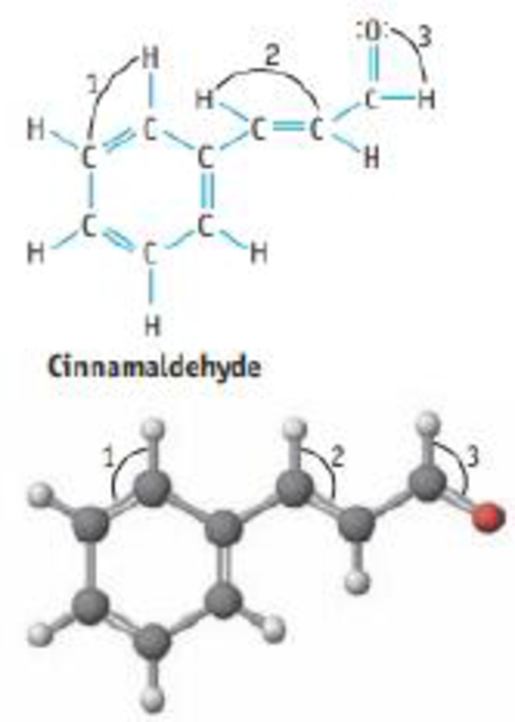 Chapter 9, Problem 41GQ, Cinnamaldehyde ocaus naturally in cinnamon oil. (a) What is the most polar bond in the molecule? (b)