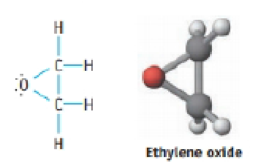 Chapter 9, Problem 52IL, Ethylene oxide is an intermediate in the manufacture or ethylene glycol (antifreeze) and polyester , example  1