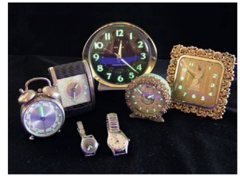 "Chapter 19.3, Problem 19.3SC, Exercise19.3Watches with numerals that glow in the dark"" formerly were made by including radioactive"