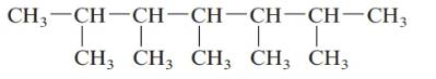 Chapter 20, Problem 130AP, . Give the systematic name for each of the following alkanes. a. b. c. d. , example  4