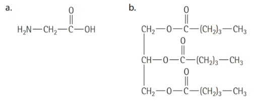 Chapter 16, Problem 16.1YT, Identifying Triglycerides Which of the following molecules are triglycerides?