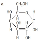 Chapter 16, Problem 16.4YT, Classify each of the following carbohydrates as a monosaccharides, a disaccharides, or a , example  1