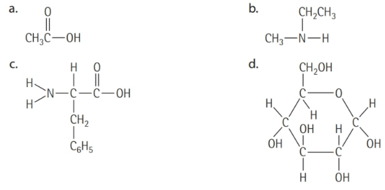 Chapter 16, Problem 16.5YT, Identifying Amino Acids Which of the following molecules is an amino acid?