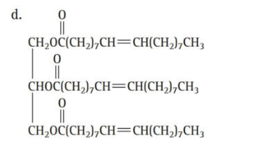 Chapter 16, Problem 46E, Which molecule is a triglyceride? , example  2