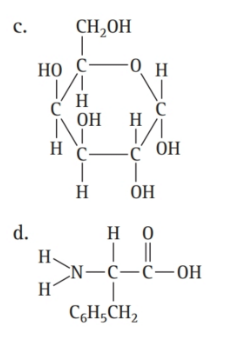 Chapter 16, Problem 56E, Which molecule is an amino acid? , example  2
