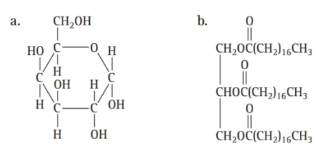 Chapter 16, Problem 57E, Classify each molecule as a lipid, carbohydrate, or amino acid: , example  1