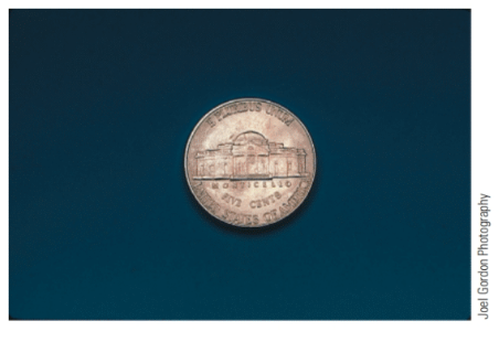 Chapter 2, Problem 53E, Each of the following coins is photographed to scale. Measure each using a metric ruler (in cm) and , example  2