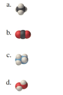 Chapter 4, Problem 62E, For each space-filling molecular model, write a chemical formula. Carbon atoms are black, hydrogen