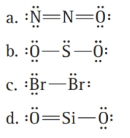 Chapter 5, Problem 26E, What is wrong with each Lewis structure? Fix the problem and write a correct Lewis structure.