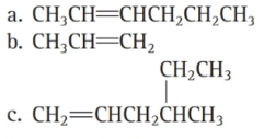 Chapter 6, Problem 46E, Name each alkyne: a.CH3CHCHCH2CH2CH3