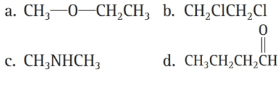 Chapter 6, Problem 57E, Functionalized Hydrocarbons Identify each compound according to its functional group