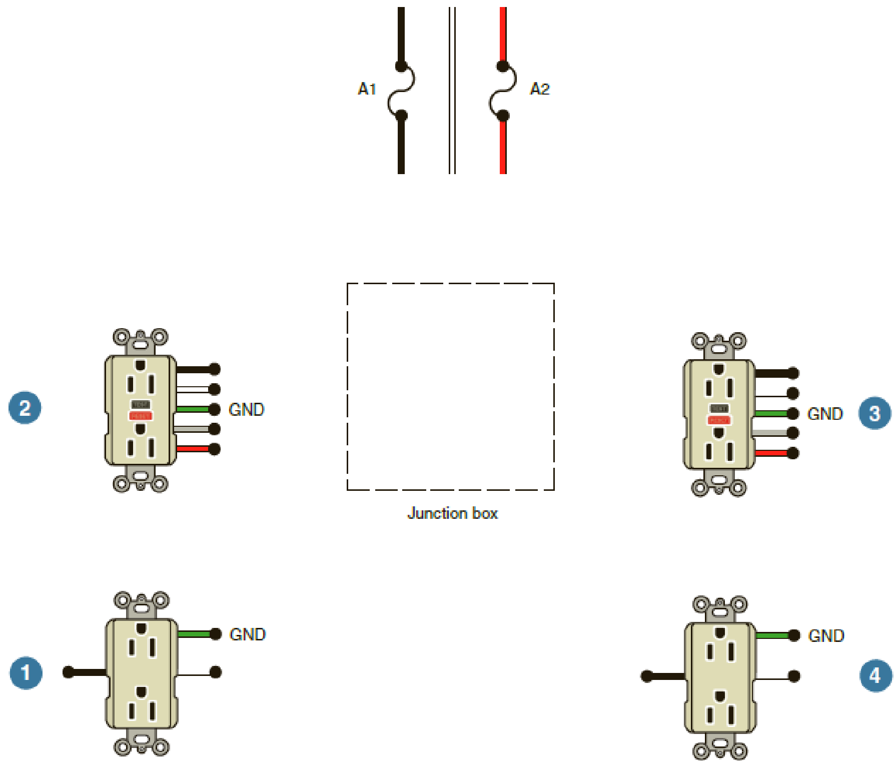 Wiring Gfci Outlets Diagram