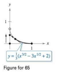 Chapter 7.4, Problem 65E, Approximating Arc Length or Surface Area In Exercises 65-68, write the definite integral for finding
