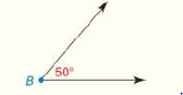 Chapter 1.CR, Problem 51CR, Given: mB=50 Construct: An angle whose measure is 20