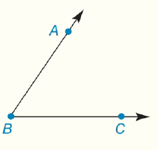 Chapter 1.CT, Problem 2CT, Given ABC as shown, provide a second correct method for naming this angle.