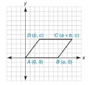 Chapter 10.2, Problem 40E, Show that quadrilateral ABCD is a parallelogram.