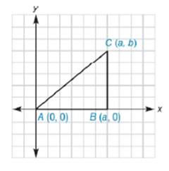 Chapter 10.3, Problem 5E, In Exercises 5 to 10, the real numbers a, b, c, and d are positive. Consider the triangle with