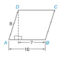 Chapter 11.2, Problem 39E, In parallelogram ABCD, find to the nearest degree: a mA b mB