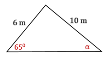 Chapter 11.CT, Problem 18CT, Use the Law of Sines or the Law of Cosines to find  to the nearest degree.