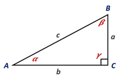 Chapter 11.CT, Problem 1CT, For the right triangle shown, express each of the following in terms of a, b, and c: a sin  b tan