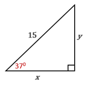 Chapter 11.CT, Problem 8CT, In the drawing provided, find the value of y to the nearest whole number.