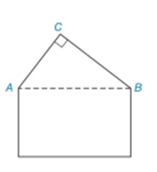 Chapter 2.4, Problem 38E, The roofline of a house shows the shape of a right triangle ABC with mC=90. If the measure of CAB is