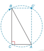 Chapter 2.6, Problem 36E, Rectangle BCAC is formed when the right ABC is rotated as shown. a What is the measure of the angle